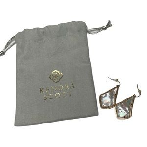 Kendra Scott Alex Ivory Pearl Earrings